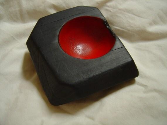 Custom Handmade Golden Oak Sculpted Form