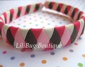 LiliBug M2MG Sweeter Than Chocolate Woven Headband