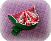 Juicy Watermelon Hair Clip