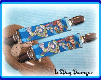 LiliBug TOY STORY Mitten Clip Set - Attaches Gloves to Coat