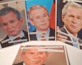 Bushisms Blank Notecards (Set of 4)