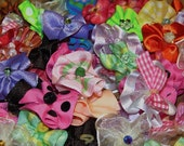 Dog Grooming Bows Huge Colorful Assortment