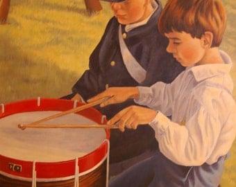 Giclee Print - Portrait - Drummer Boys