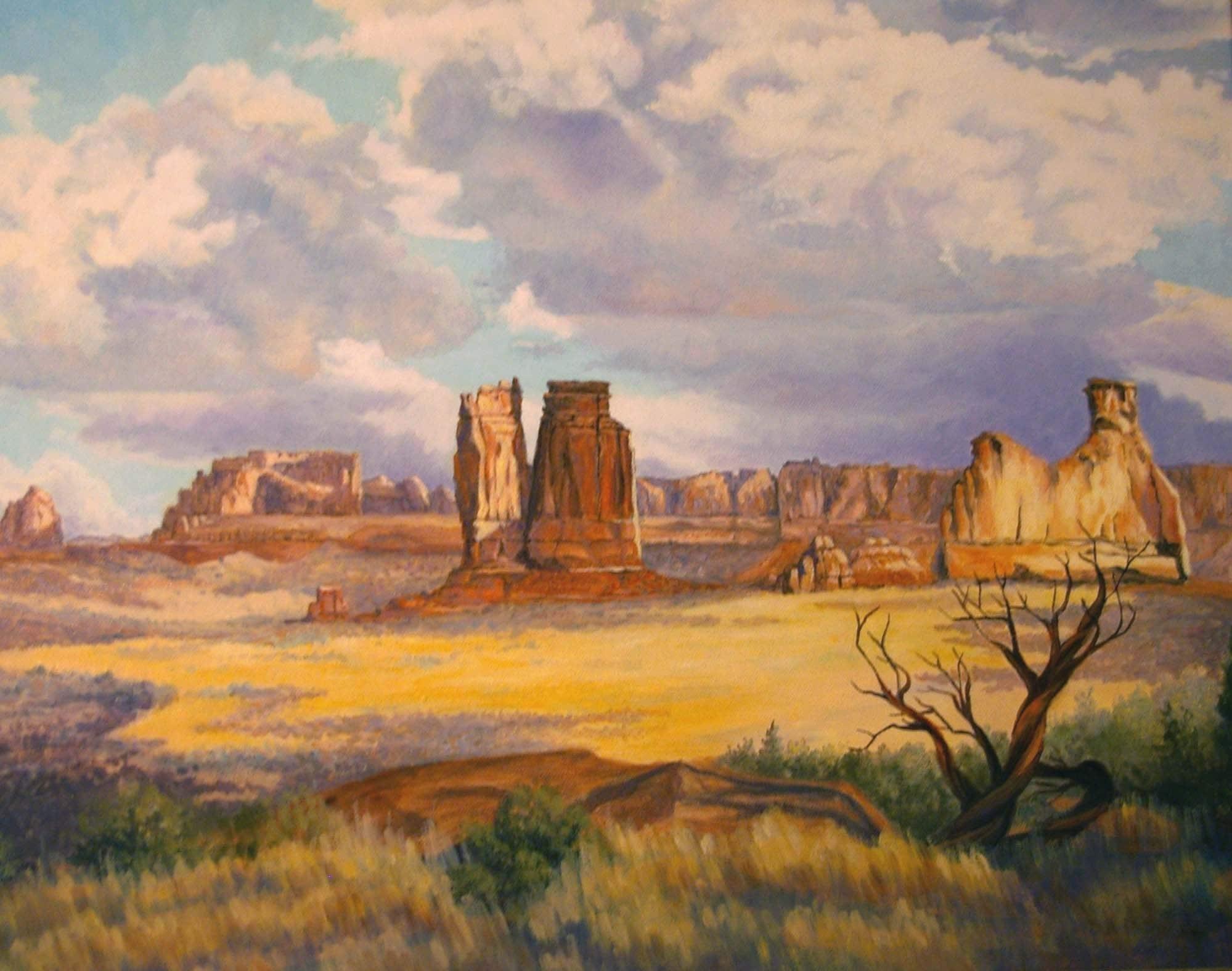Giclee Print Southwest Landscape