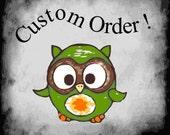 Custom order for Felicia