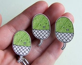 Acorn - Small Illustrated Pin Badge