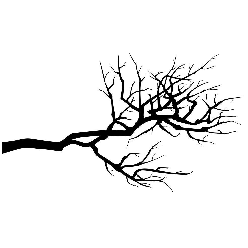 Long Branches Wall Vinyl Decal