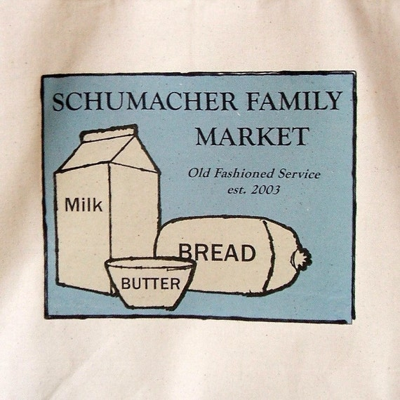 Personalized Family Market Tote