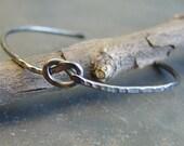 Artisan Sterling Silver Knot Bangle Bracelet - In Knots