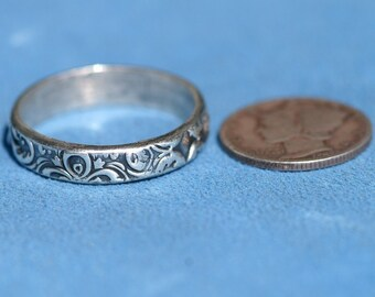 Ring in Silver - Andalusian  5mm - Made to Order