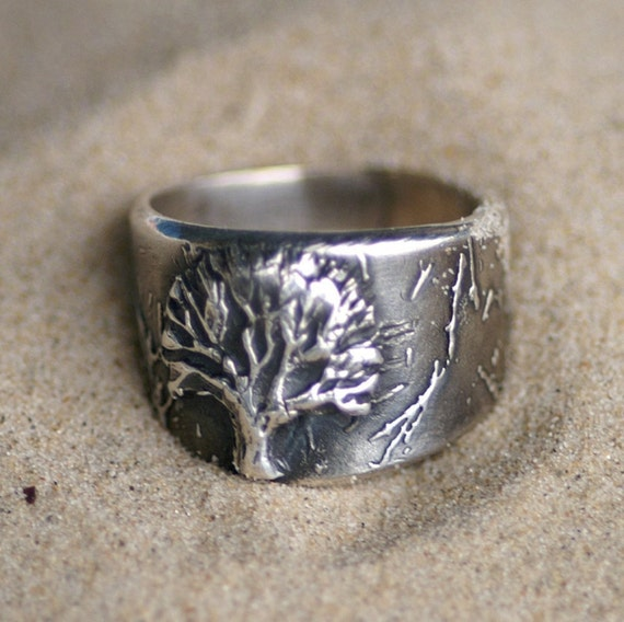 Ring - Silver - Tree of Life - Made to Order
