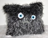 Furry Monster Pillow - Newman