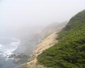Foggy Coast Line