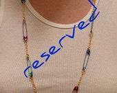 Safety Necklace - RESERVED for rufus1