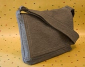 Gray Mini Messenger (Made-to-Order)