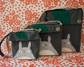 Totoro Messenger Small (Made-to-Order)