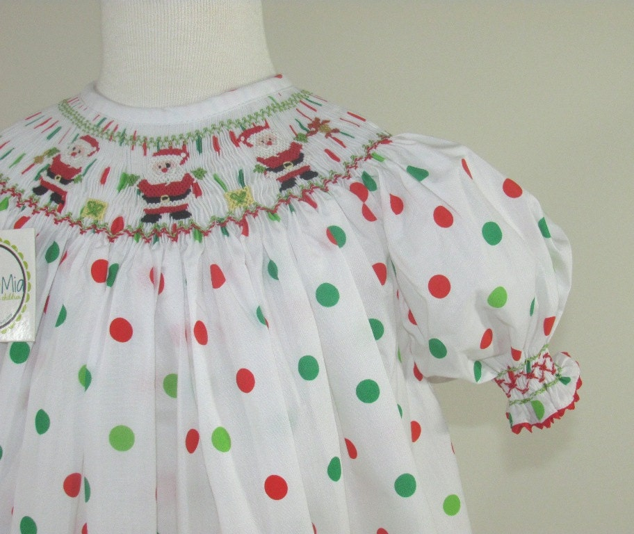 Christmas Smocked Dresses