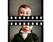 Charlie Speak Up - 8x10 Photograph - Vintage Ventriloquist Dummy Puppet Mannequin Tuxedo in Hollywood Oscars Film Movies by Jean Lannen