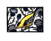 Goldfinch and Thistle
