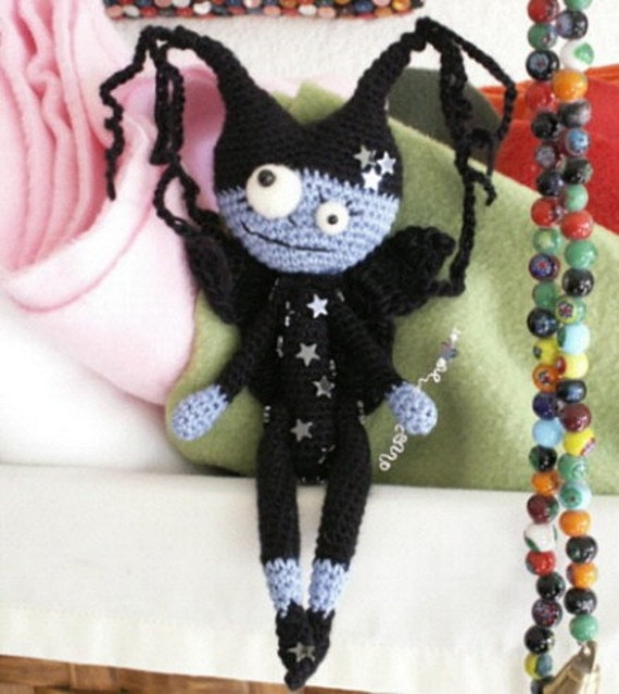 StRiNgLy CECILY the not so sweet dreams fairy art doll