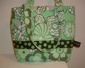 The Shannon Bag in Amy Butler fabric