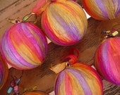 RESERVED for epatten1 - Unbreakable Christmas Ball Ornament - Citrus Collection