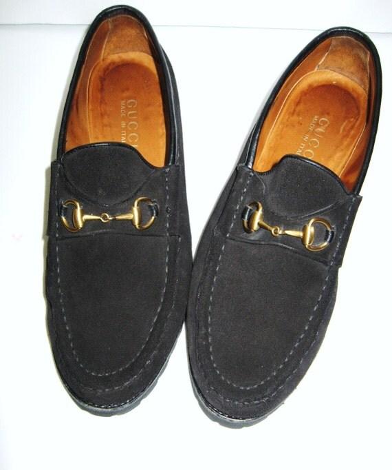 Women Vintage Gucci Horse Bit Loafer Shoes Sz 8 5