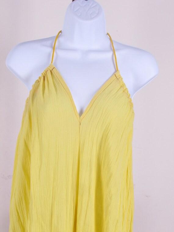 Custom Summer White 100% Sheer Cotton Gauze Romper Hippie Gypsy Boho Playsuit Jumper one size