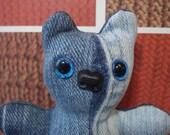 Baby Bear - Two Tone Denim and Light Blue Eyes