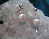 Biwa Freshwater Pearl Earrings