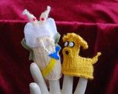 Adventure Time Slugz finger puppet set
