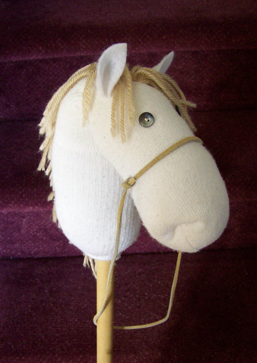 Sock Hobbyhorse Unicorn Pattern Design Tutorial Howto Email How To Draw A  Horse Unicorn Solution For