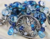 Reserved - The Heavenly Blue Sky Bracelet