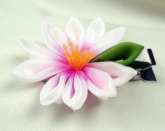 Hasu (Lotus) Kanzashi Single