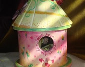 RESERVED FOR PURPLEREDRIBBON -    Secret Petals Fairy Dwelling \/ Fairy House - Fully Furnished