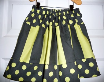 SAMPLE - Children Skirt - Will fit Size 2T / 3T / 4T - by Boutique Mia and More - Ready To Ship