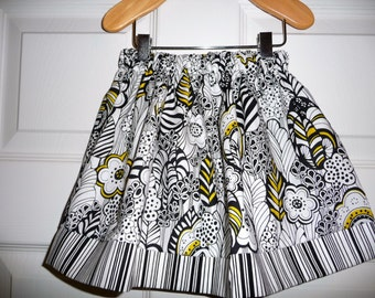 SAMPLE - Children Skirt - Will fit Size 6-12 month and 12-24 month - by Boutique Mia and More - Ready To Ship