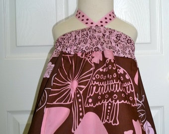 SAMPLE - Halter dress or top - Will fit Size 12-24 month / 2T / 3T - by Boutique Mia and More - Ready To Ship