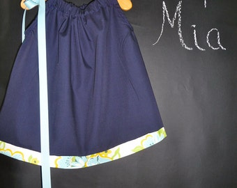 SAMPLE - Pillowcase Dress or Top - Heather Bailey - Will fit Size 6 month up to 4T - by Boutique Mia and More - Ready To Ship