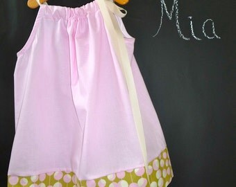 Ready to MAIL - Pillowcase Dress or Top - Amy Butler - Will fit Size 2T up to 7 yr - by Boutique Mia and More
