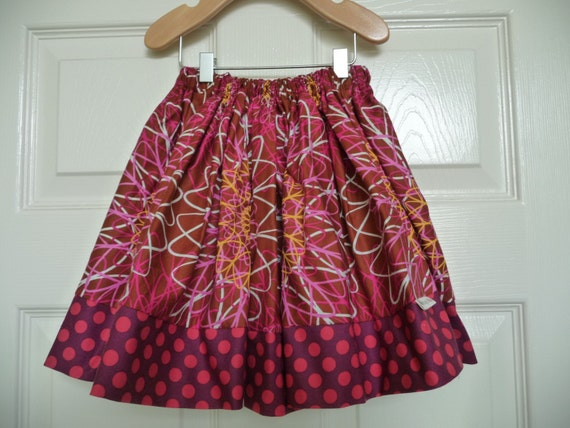 SAMPLE - Xtra Full Children Skirt - 12 INCHES LONG - Will fit Size 2T / 3T / 4T  - by Boutique Mia and More - Ready To Ship