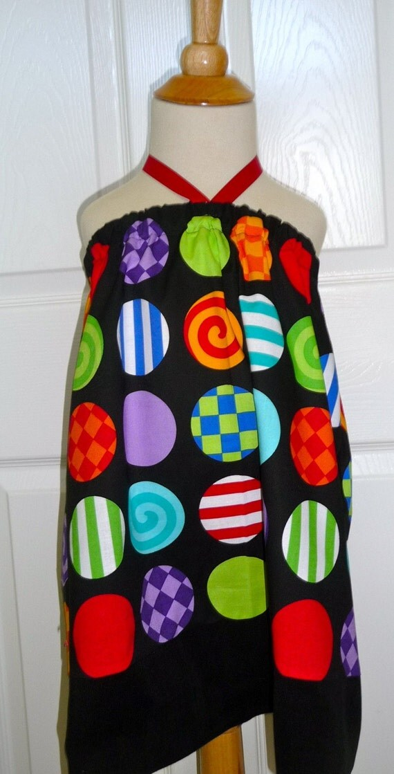 SAMPLE - Halter dress or top - Will fit Size 4T/ 5T / 6yr - by Boutique Mia and More - Ready To Ship
