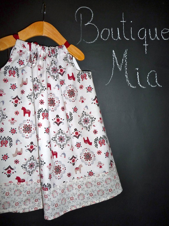 SAMPLE - Pillowcase Dress or Top - Japanese Import - Will fit Size 2T to 5T - by Boutique Mia and More - Ready To Ship