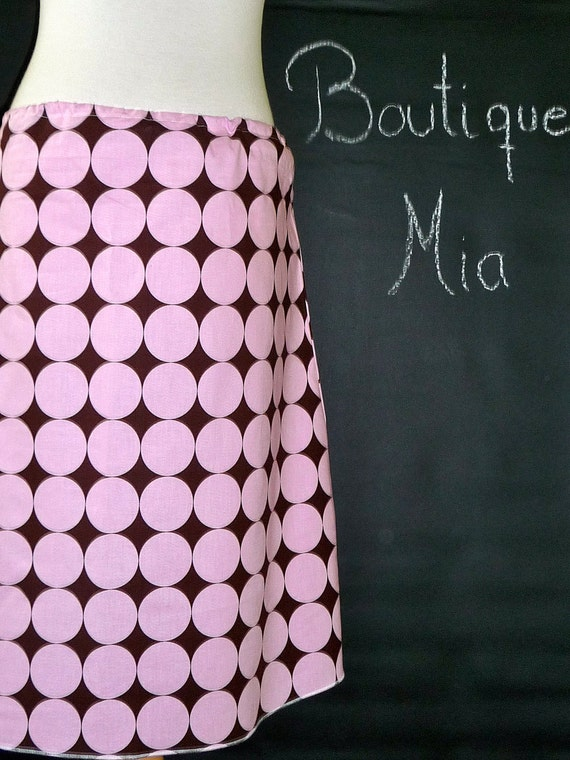 DIY KIT - WOMEN - Aline Skirt - Disco Dots - Pick the size - Junior, Adult and Plus size - by Boutique Mia and More