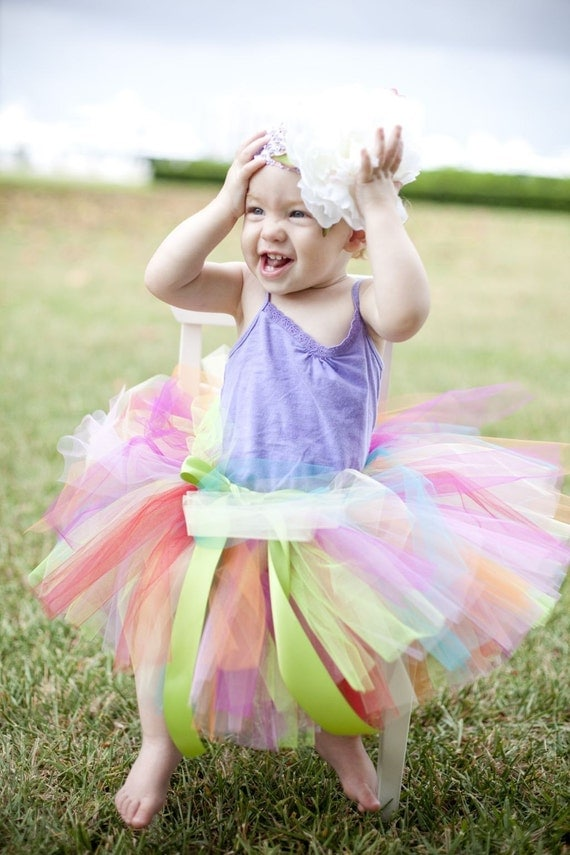 Summertime Rainbow TuTu.