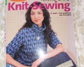 Very rare KNIT SEWING instructional book -An easy basic style with 14 patterns plus 2 Handbooks/Guides