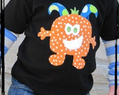 HAPPY TICKLE MONSTER Baby Dots Onesie or T-Shirt