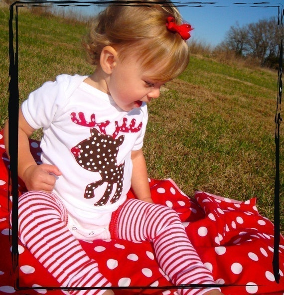 Rudolph the Red Nosed Reindeer CHRISTMAS Onesie or T-Shirt