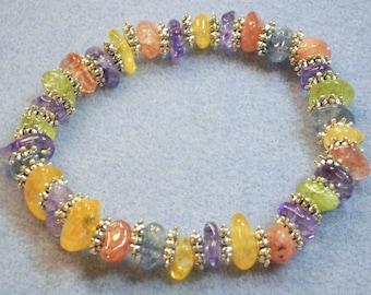 Multicolored Crystal Bracelet (688)