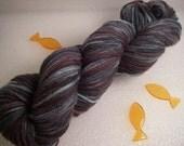 215 yds Fingering Lambswool - Kelp Forest Yarns - Sock - Urchin